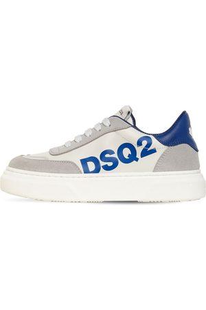 Dsquared2 Sneakers In Pelle E Camoscio Con Logo