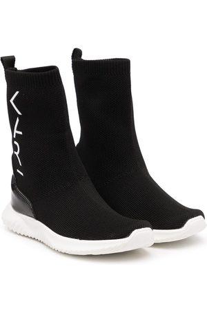 Karl Lagerfeld Stivaletti a calzino con logo