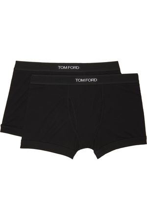 Tom Ford Uomo Boxer shorts - Two-Pack Black Cotton Boxer Briefs