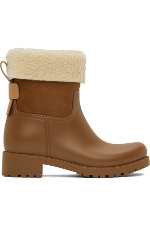 See by Chloé Donna Stivali - Rubber Jannet Ankle Boots
