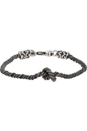 EMANUELE BICOCCHI Uomo Bracciali - Knotted Rope Bracelet