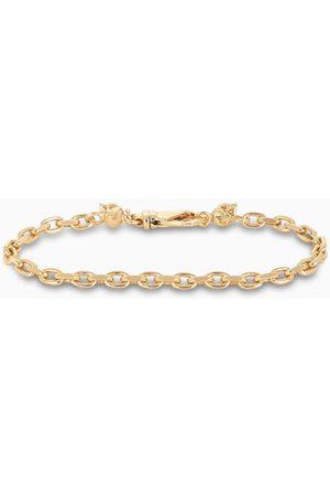 EMANUELE BICOCCHI Bracciale a catena in argento 925 placcato oro