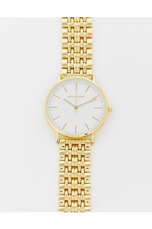ASOS Orologio bracciale con quadrante dorato