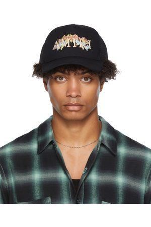 AMIRI Uomo Cappelli - Floral Logo Trucker Hat