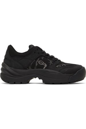 Kenzo Donna Sneakers - Leather Work Sneakers