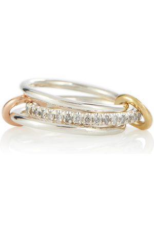 SPINELLI KILCOLLIN Donna Anelli - Anello Tigris MX Gris in argento con diamanti