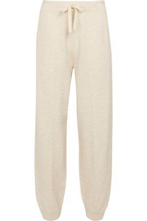 Isabel Marant Pantaloni sportivi Kira in misto cotone e lana