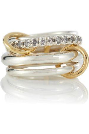 SPINELLI KILCOLLIN Donna Anelli - Anello Janssen SG Gris in argento con diamanti