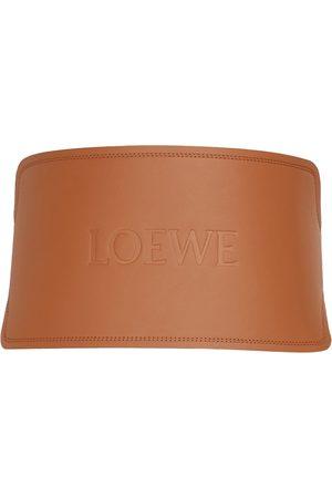 Loewe Donna Cinture - Cintura in pelle con logo