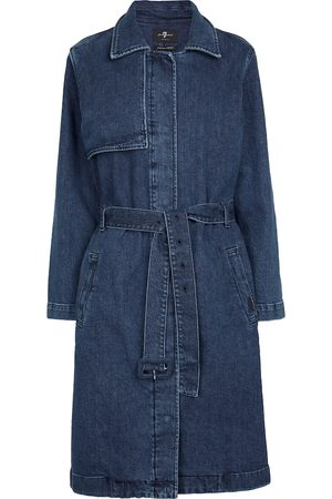 7 for all Mankind Donna Jeans - Trench di jeans Ever Blue