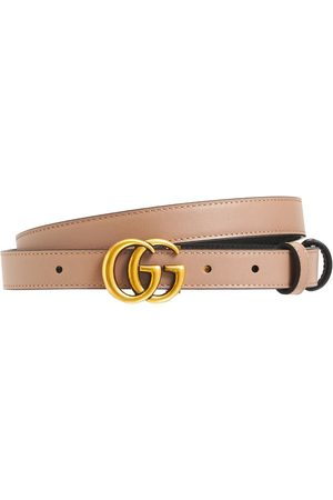 Gucci Donna Cinture - Cintura Reversibile Gg Marmont 2cm