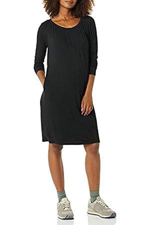 Amazon Essentials Donna Vestiti scollati - Abito Premaman con Scollatura Dresses, , XL