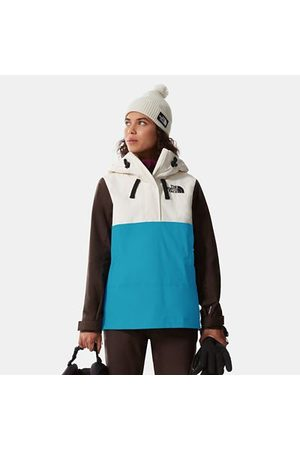 The North Face The North Face Giacca Fanorak Donna Tanager Gardenia White-deep Brown-enamel Blue Taglia L Donna