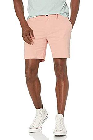 Goodthreads Uomo Pantaloncini - Marchio Amazon - , pantaloncini Oxford da uomo, comodi, elasticizzati, interno gamba: 17,7 cm, Rosa , 36W