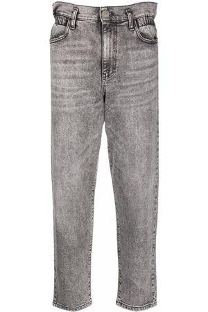Pinko Jeans dritti con lavaggio acido