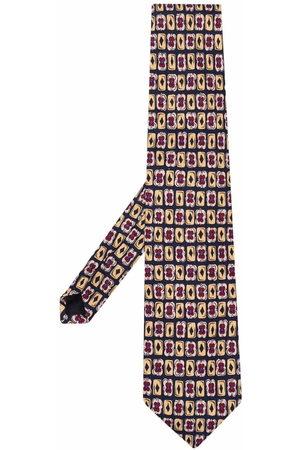 Prada Uomo Cravatte - Cravatta con stampa anni '90