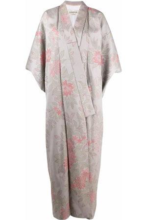 A.N.G.E.L.O. Vintage Cult Kimono a fiori anni '70