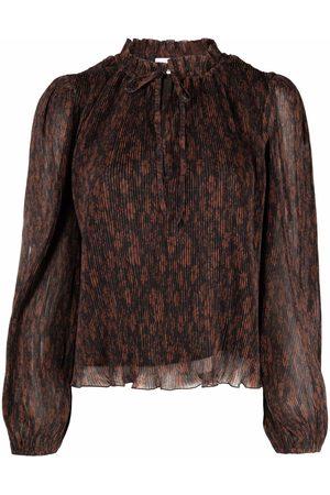 Ganni Donna Bluse - Blusa plissettata