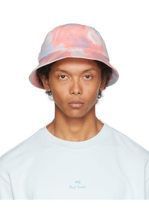 Paul Smith Uomo Cappelli - Blue & Pink Dip-Dye Bucket Hat