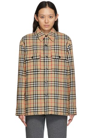 Burberry Donna Giacche - Vintage Check Overshirt