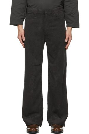 Sasquatchfabrix. Uomo Portafogli e portamonete - Corduroy Flare 5 Pocket Trousers
