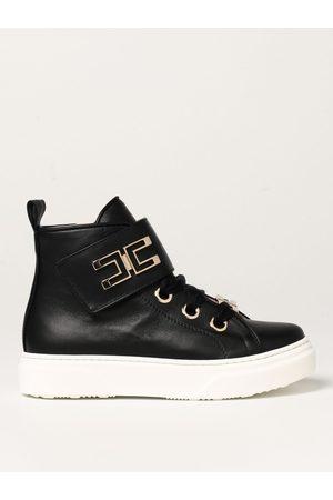 Elisabetta Franchi Sneakers alta in pelle