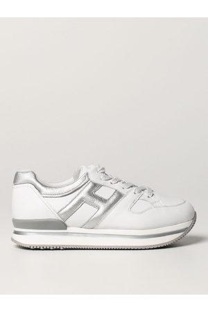 Hogan Sneakers J222 in pelle laminata