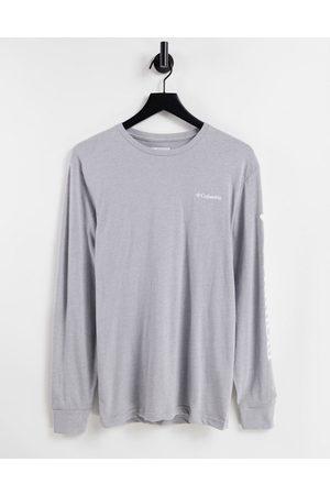 Columbia North Cascades - T-shirt a maniche lunghe grigia