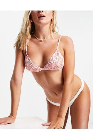 Cotton On Top bikini a triangolo in coordinato