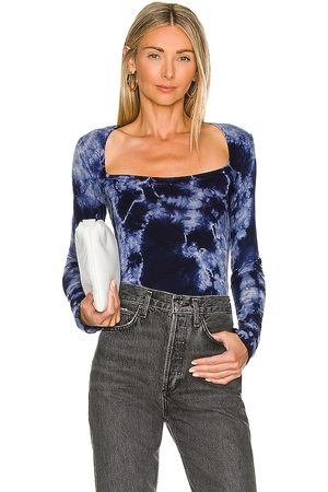 House of Harlow X REVOLVE Bryla Top in - Blue. Size L (also in M, S, XL, XS, XXS).