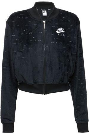 Nike Giacca In Velluto Con Logo