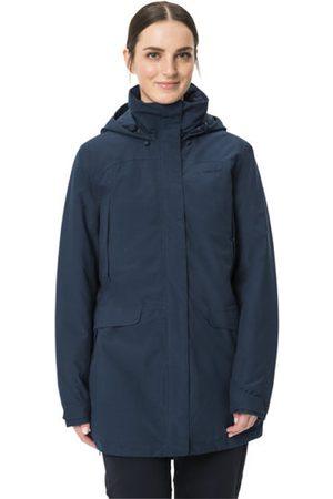 Vaude Donna Giacche invernali - W's Skomer Wool - giacca con cappuccio - donna. Taglia I38 D34
