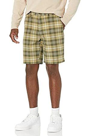 "Amazon Slim-Fit 9"" Plaid Short Pantaloncini, , W30"