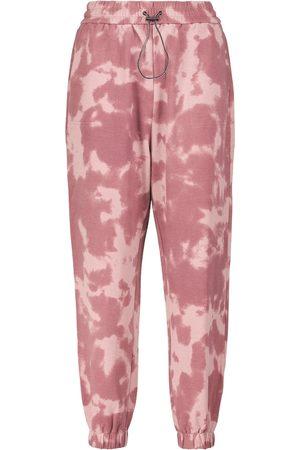 Varley Pantaloni sportivi tie-dye in cotone