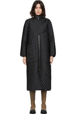 Ganni Donna Soprabiti - Quilted Recycled Ripstop Coat