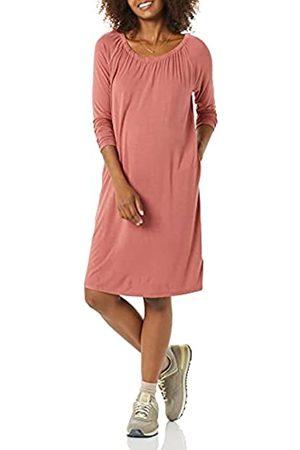 Amazon Essentials Abito Premaman con Scollatura Dresses, Scuro, XL