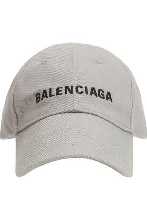 Balenciaga Cappello Baseball Con Logo Ricamato