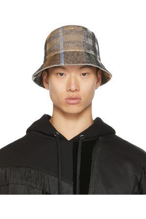 Burberry Uomo Cappelli - Beaded Check Bucket Hat