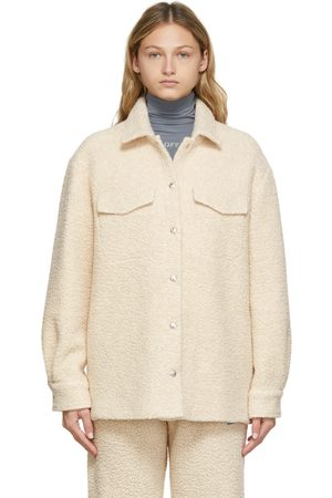 OFF-WHITE Teddy Shirt Jacket