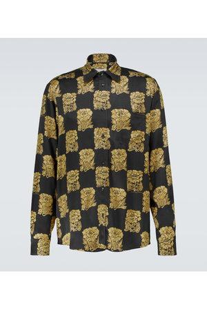 Nanushka Uomo Camicie a maniche lunghe - Camicia Kaleb con stampa