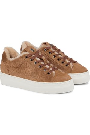 Bogner Donna Sneakers - Sneakers Barcelona in suede e shearling