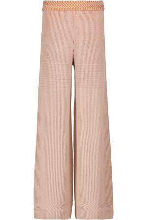 Missoni Pantaloni in misto lana a coste
