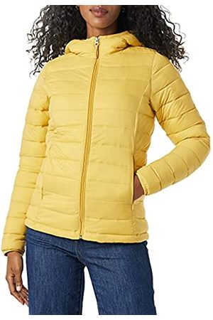 Amazon Donna Giacche estive - Lightweight Water-Resistant Packable Hooded Puffer Jacket Giacca, Scuro, XXL