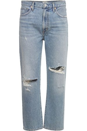 """Citizens of Humanity Jeans Relaxed Tapered Fit """"marlee"""" In Denim"""