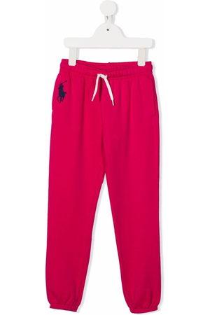 Ralph Lauren Pantaloni sportivi con ricamo