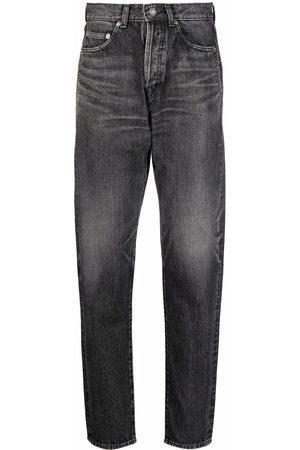 Saint Laurent Jeans affusolati a vita alta