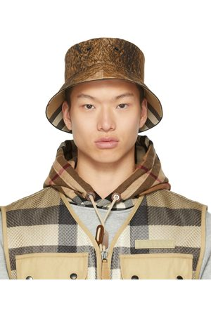 Burberry Uomo Cappelli - Fur Print Bucket Hat