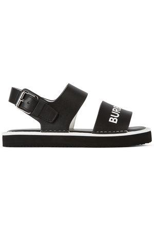 Burberry Sandali - Kids Leather Malverton Logo Sandals