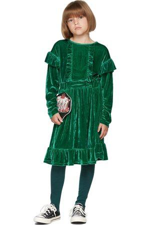 The Campamento Kids Velour Dress