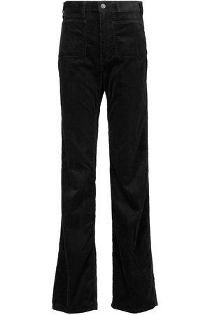 Polo Ralph Lauren Pantaloni in velluto a vita alta